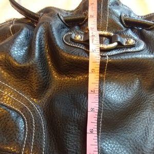 Minicci Bags - NWOT Black Faux Leather Shoulder Bag